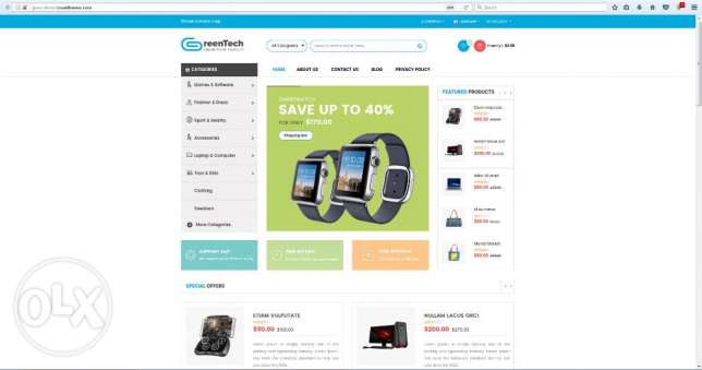 commerce Website for Sale at JOD 199 ONLY عمان -  5